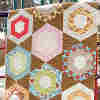 Boho Honeycomb Hexagon Quilt