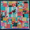 Disappearing Nine Patch Mini Quilt Wall Hanging