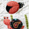 Ladybug, Butterfly and Snail Applique Patterns