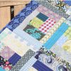 Quilt As You Go Log Cabin Table Topper