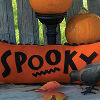 Spooky Fusible Applique Pillow