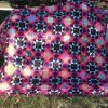 Neon Starry Terrain Quilt