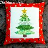 Oh Christmas Tree Pillow Design