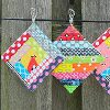 Scrappy Quilt As You Go Coasters