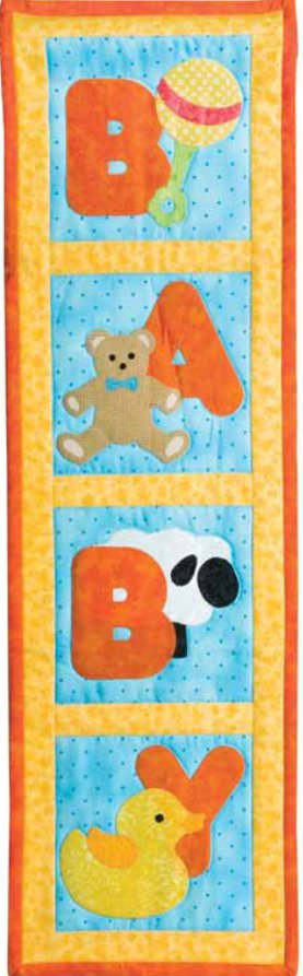 Baby Toys Applique Wall Hanging