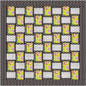 Basketweave Dots Quilt Favequilts Com