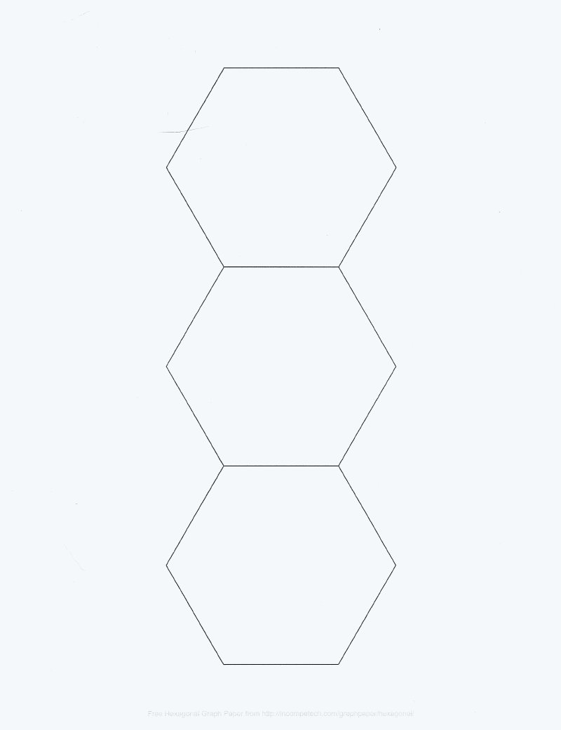3 inch hexagon template - enchanting 3 inch hexagon template inspiration example
