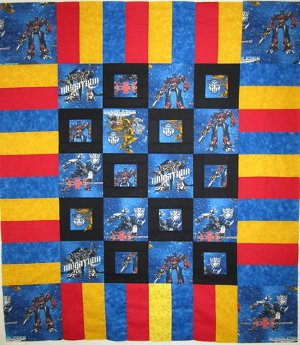 Mini Transformers Frame Quilt Favequilts Com