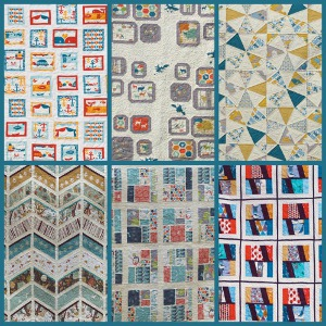 Beautiful Quilt Patterns from Lunden Designs
