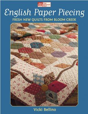 Honeybee Free Paper Piecing Quilt Block Pattern