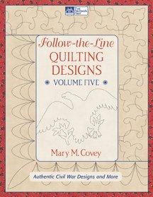 Follow The Line Quilting Designs Volume 5 By Mary M