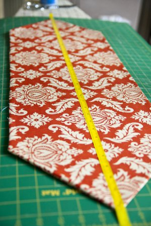 Simple Autumn Table Runner Favequilts Com