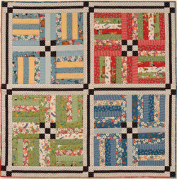 Easy Quilt Patterns Rail Fence : SCRAPPY RAIL FENCE QUILT PATTERNS FREE Quilt Pattern