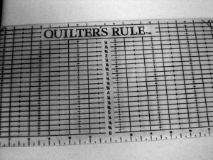 How to Make a Quilt: Quilting Ruler