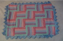 Miniature Rail Fence Quilt Pattern