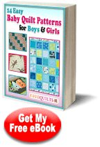 14 Easy Baby Quilt Patterns for Boys & Girls