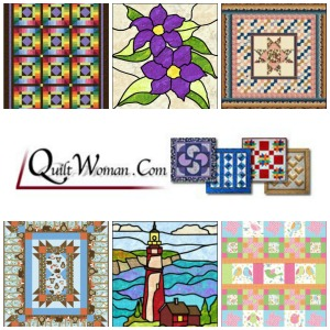 quiltwoman pattern bundle 9 Quilt As You Go Patterns + Giveaway!