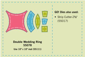 Wedding Ring Motif Wall Hanging