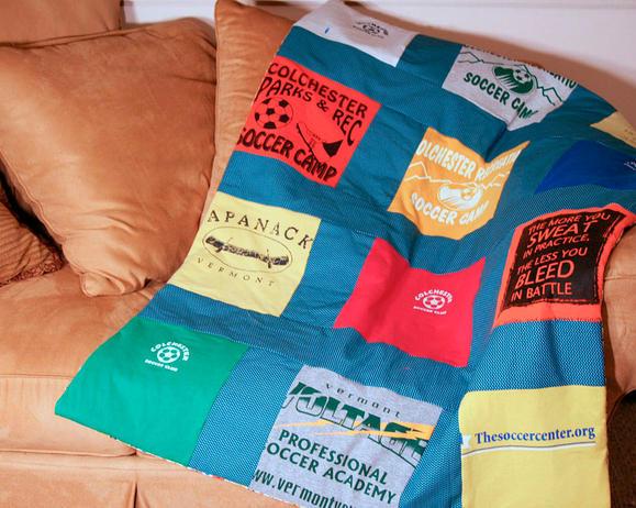 Classic Memories T Shirt Quilt